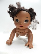 Baby Alive Black African American Crawls Crawling WORKS GREAT Doll - $24.74