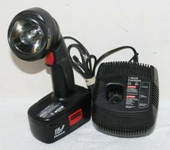 Vintage Craftsman Cordless 19.2v Flashlight w/ Charger & Battery ~ 315.113913 - $44.99