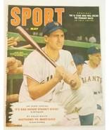 1952 MAY SPORT MAGAZINE NEW YORK GIANTS AL DARK BASEBALL COVER - $11.86