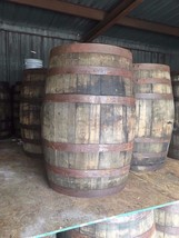 8 Retired Whiskey Barrels Used Bourbon Whisky Keg 53 Gallon Wood LOCAL P... - £1,504.09 GBP