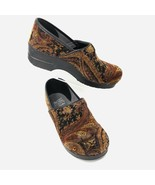Dansko Women's Vegan Cloth Clogs, Size 40 Euro, 9.5 - 10 US, Tapestry  - $68.80