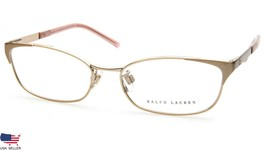 New Ralph Lauren Rl 5071 9170 Pale Gold Pink Eyeglasses Frame 53-16-135mm Italy - $54.44
