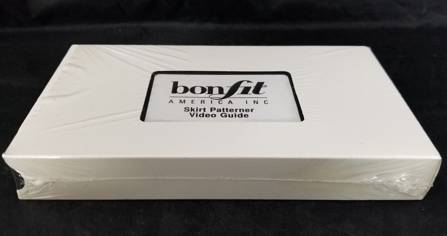 Bonfit America Skirt Patterner Video Guide VHS Tape Sewing Clothes Making NEW