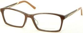 New Prodesign Denmark 1725-1 5032 Shiny Dark Brown Eyeglasses Frame 53-16-140mm - $89.09
