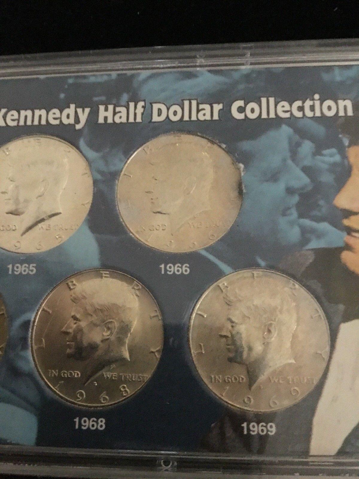 1968 S Kennedy Half Dollar CN-Clad 50c Gem Proof Roll 20 US coins