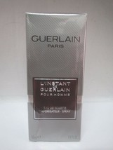 L'INSTANT DE GUERLAIN POUR HOMME EDT SPRAY 1.6 FL OZ 50 ML NIB SEALED - $35.63