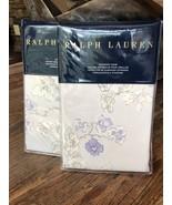 New Ralph Lauren Madeleine Franchise Standard Pillow Shams 2-Shams Orig ... - $83.90