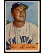 1954 Bowman #113 Allie Reynolds Yankees - $7.50