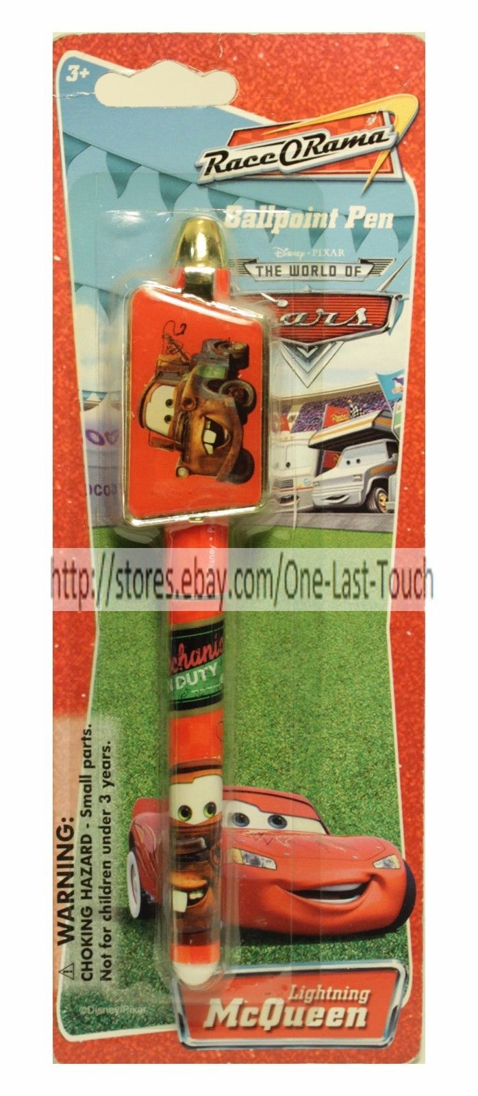 *DISNEY CARS* School Supply BALLPOINT INK PEN Great For Boys CARDED *YOU CHOOSE*
