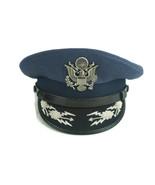 US Air Force 1960's Era Officers Cap Hat Colonel Flight Ace - $74.77
