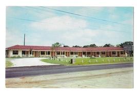 Dunn NC Dawsons New Motor Court Rte 301 Motel Mr Mrs F A Hook Prop Vtg Postcard - $4.99