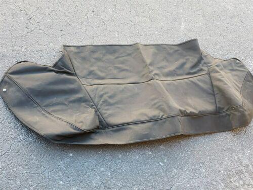 89-93 Jaguar XJS XJ-S Convertible Top Tonneau Boot Canvas Cover - BLACK