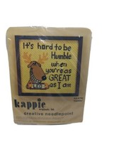 Kappie Original 1978 Creative Needlepoint Kit K710 Humble 10 x 10  - $18.61