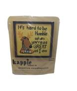Kappie Original 1978 Creative Needlepoint Kit K710 Humble 10 x 10  - $18.61