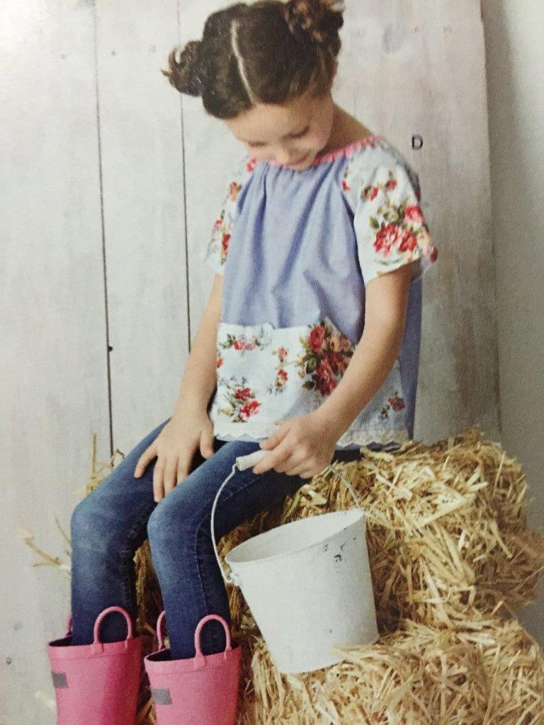 Simplicity Sewing Pattern 8087 Misses Childs Pullover Dress Top Size 3-8 XS-XL