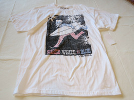 Boys youth O'Neill surf skate M Shred T shirt Youth TEE WHT white SU6218300 - $16.03
