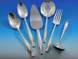 Stradivari by Wallace Sterling Silver Essential Serving Set Large 6-piece - $349.00