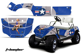 Yamaha Golf Cart Graphic Kit Wrap Parts AMR Racing Decal 1995-2006 T-BOM... - $299.95