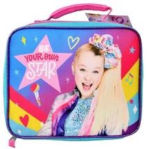 JOJO SIWA NICKELODEON Be Your Own Star BPA Lead-Safe Lunch Tote Bag Box ... - $11.87