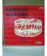 Famous Marches, Pontiac PLP-509, 10''/33RPM Record - $8.99