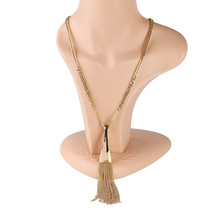 UE- Big & Bold Sophisticated Gold Tone Designer Necklace - $29.99