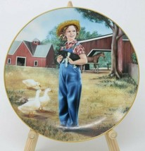 The Danbury Mint Shirley Temple Collector Plate Rebecca of Sunnybrook Fa... - $24.26