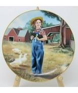 The Danbury Mint Shirley Temple Collector Plate Rebecca of Sunnybrook Fa... - $24.26