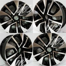 """New 16"""" Replacement Wheel for Honda Civic 2013 2014 2015 Machined Black 64054 - $554.39"""