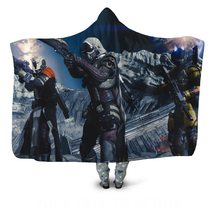 Destiny 2 Hooded Hoodie Wearable Blankets - £27.61 GBP+