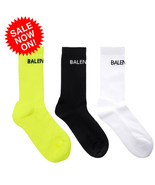 NEW BL Cotton Socks BALENCIAGA² Logo CASUAL WOMEN SEXUAL FAST SHIPPING  - $12.73+