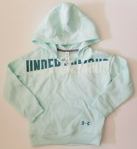 NWT Under Armour Girl's Long Sleeve Hooded Sweatshirt Hoodie Size Extra ... - $24.99