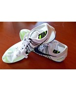 Nike Zoom Victory 2 Track Field Spikes Distance 555365 100 White Men's 1... - $29.99