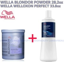 Wella Blondor Multi Blonde Powder 28.2oz+10V Develper 33.8OZ Duo Set - $47.99