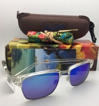 Polarized MAUI JIM Sunglasses KAWIKA MJ 257-05CR Crystal Frames with Blue Hawaii image 1