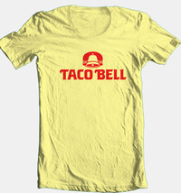 Taco Bell T-shirt retro 1980's logo fast food restaurant 100% cotton graphic tee image 1
