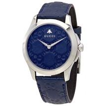 Gucci YA1264032 G-Timeless Men's Silver Slim Watch - $667.43