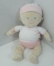 Koala baby first doll plush soft white hat pink polka dots blue eyes Toys R Us - $29.69