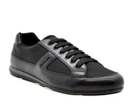 Prada Logo Luxury Sneakers Training Size 8.5 New - $321.75