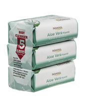 PATANJALI ALOEVERA KANTI BODY CLEANSER/ BAR SOAP - (3X150) - 450gm - $24.99