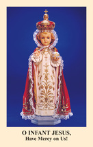 Novena to the Infant Jesus of Prague Prayercard (Pack of 100)