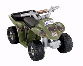 FISHER PRICE POWER WHEELS LIL' QUAD Battery & C... - $156.12