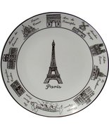 222 Fifth Around The City Paris Appetizer Plates Set of 4 - $49.49
