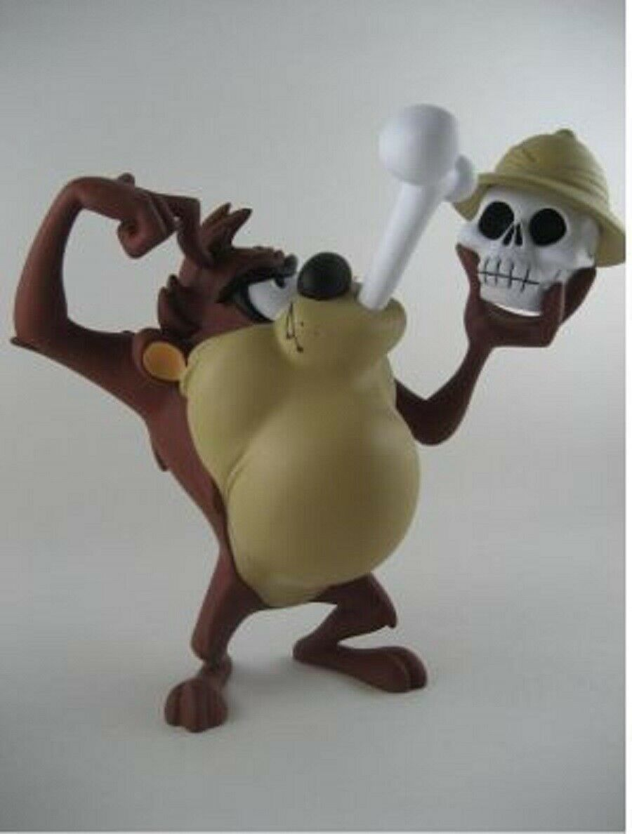Primary image for Extremely Rare! Looney Tunes Taz Eating Bones Demons & Merveilles Statue