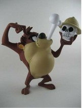 Extremely Rare! Looney Tunes Taz Eating Bones Demons & Merveilles Statue - $405.41