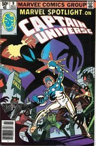 Marvel Spotlight Comic Book Vol 2 #9 Captain Universe 1980 FINE- - $2.75