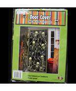 Gothic-SKELETON PRISONERS DOOR COVER MURAL-Halloween Party Decoration Pr... - $3.93