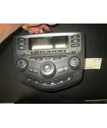 03 04 05 06 07 HONDA ACCORD RADIO CD CLIMATE CONTROL #39175-SDA-L120-M2 - $90.03