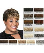 LUXHAIR  Lux Hair by  Sherri Shepherd Textured Pixie BOB Wig Silver Grey - $39.59