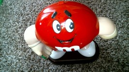 -94- M&M Red Candy Dispenser 1992 - Free Shipping!! - $20.25