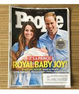 People Magazine August 5 2013 • Prince William & Kate + Baby Boy Royal B... - $7.87